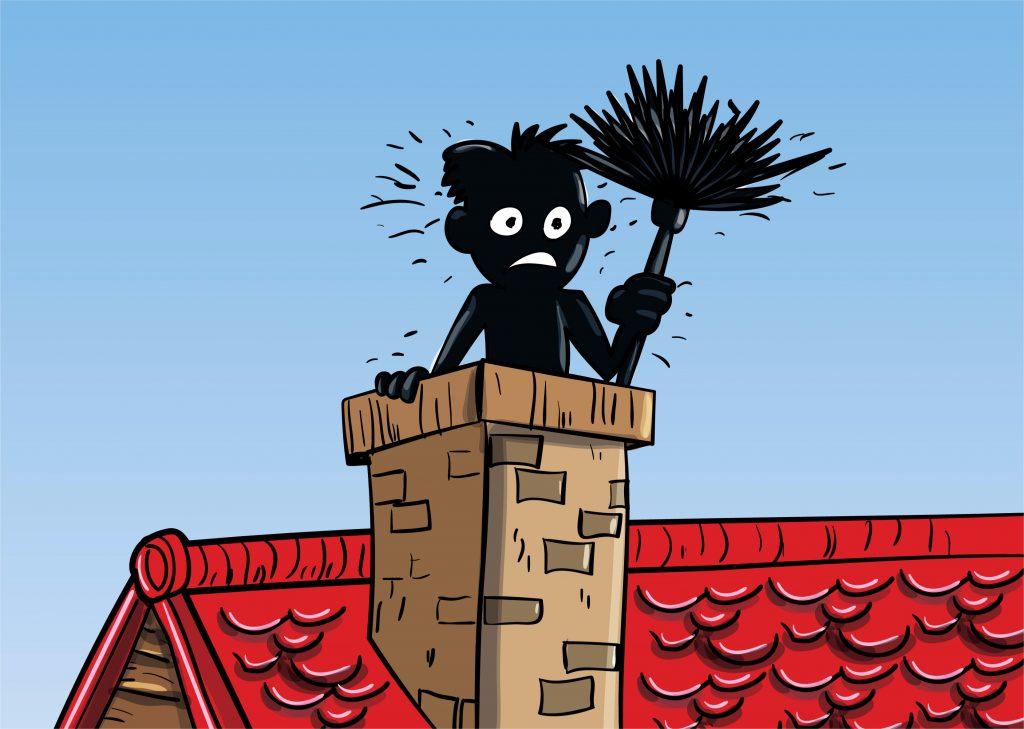 Cartoon Sweep Best Cincinnati Chimney